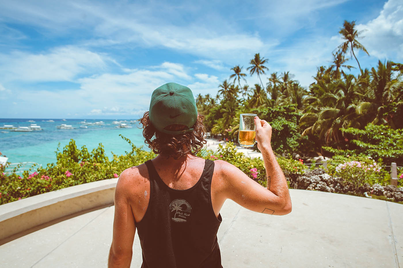 Top Backpacker Souvenirs - what to collect while traveling around the world. T-shirts and singlets make great souvenirs for backpackers.
