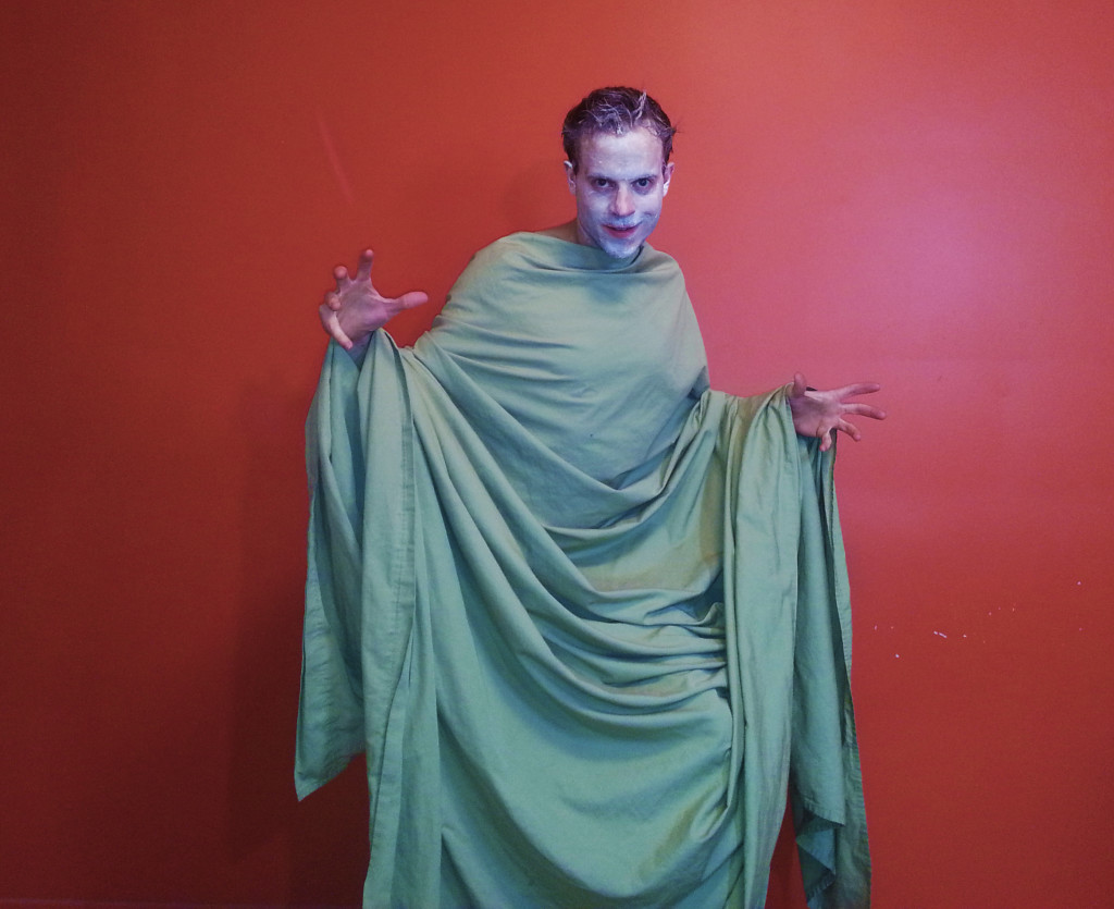 Ghost Halloween Costume for Backpackers