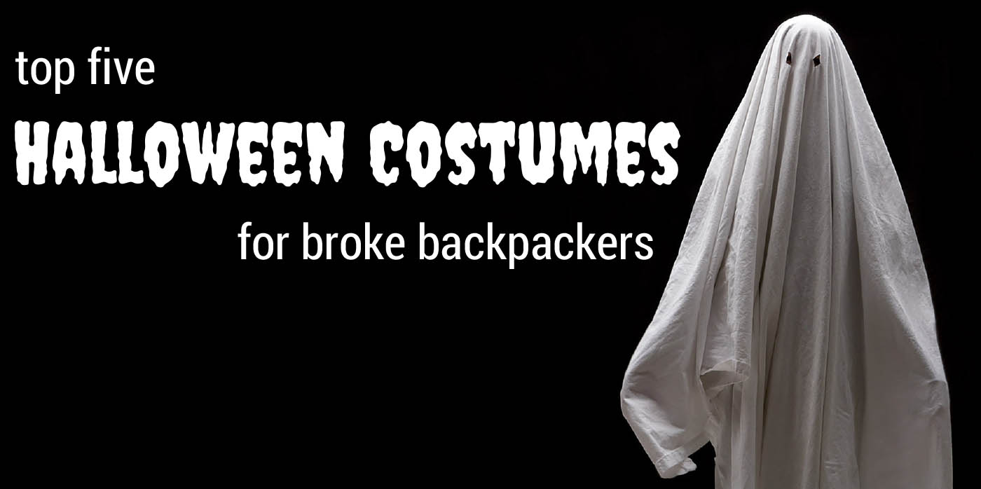 Five Halloween Costumes for Broke Backpackers