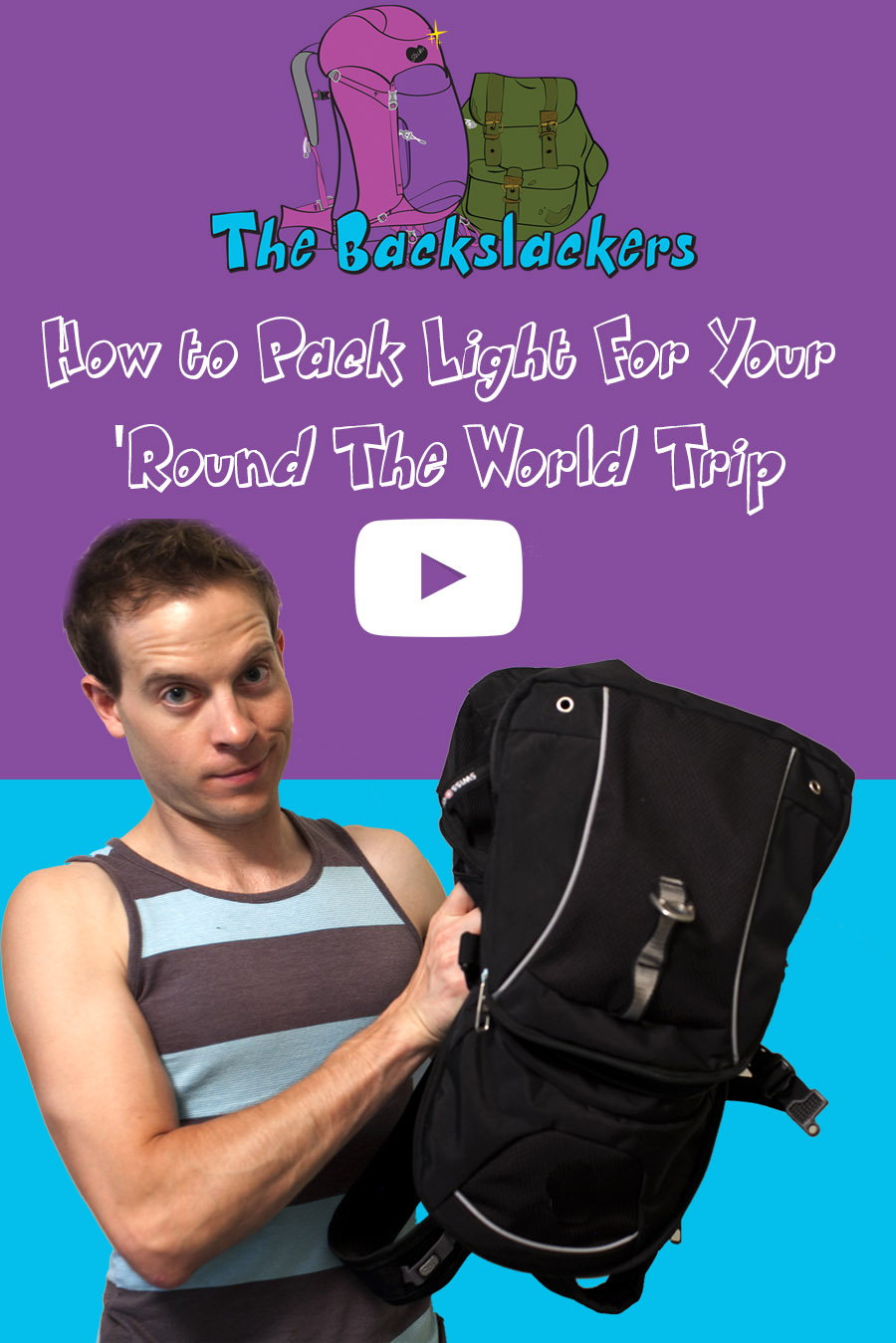 Video: How to Pack Light for Your 'Round the World Trip
