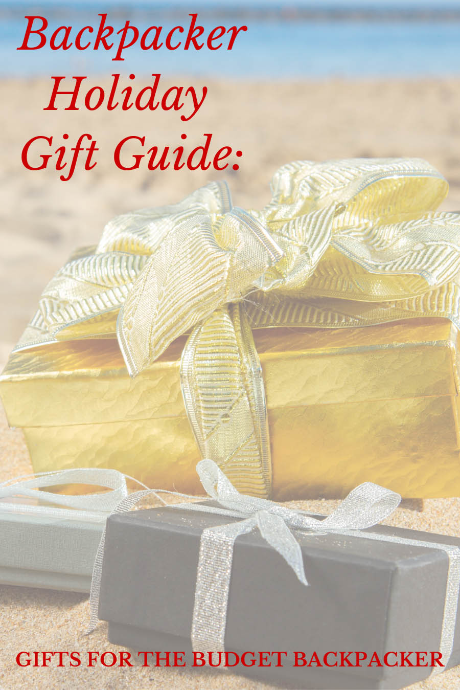 Backpacker Holiday Gift Guide: Gifts for the Budget Backpacker