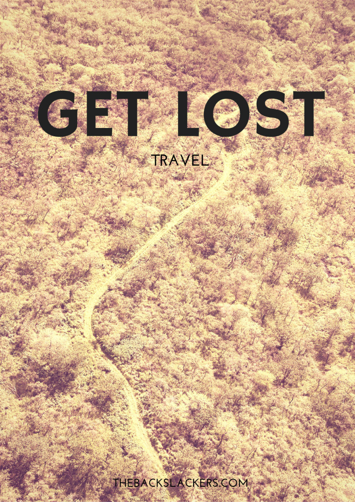 Inspirational Travel Poster - Get Lost