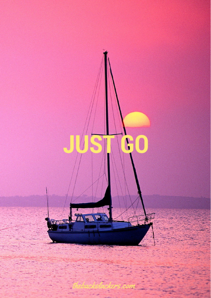 Inspirational Travel Poster - Just Go