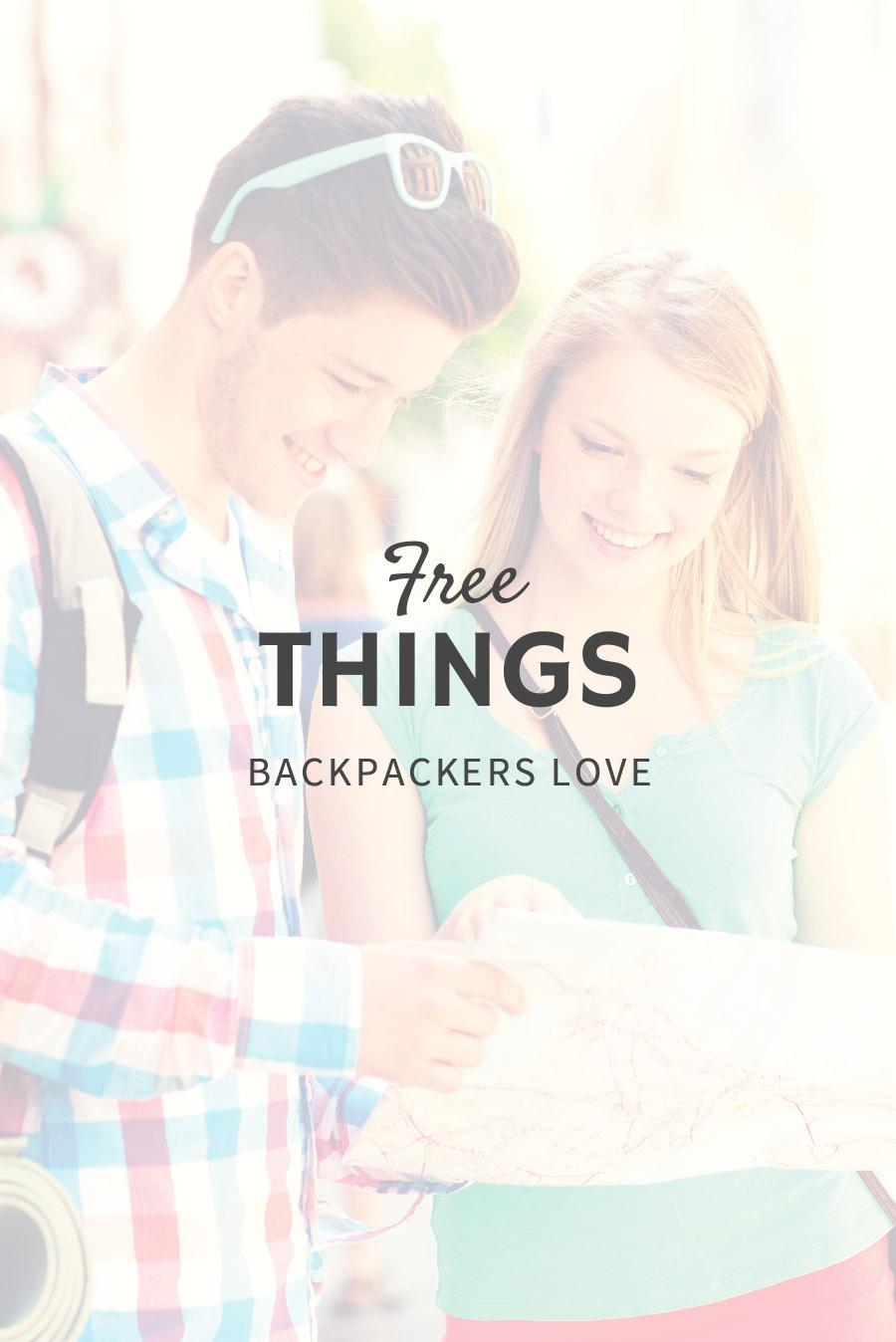 Free Things Backpackers Love