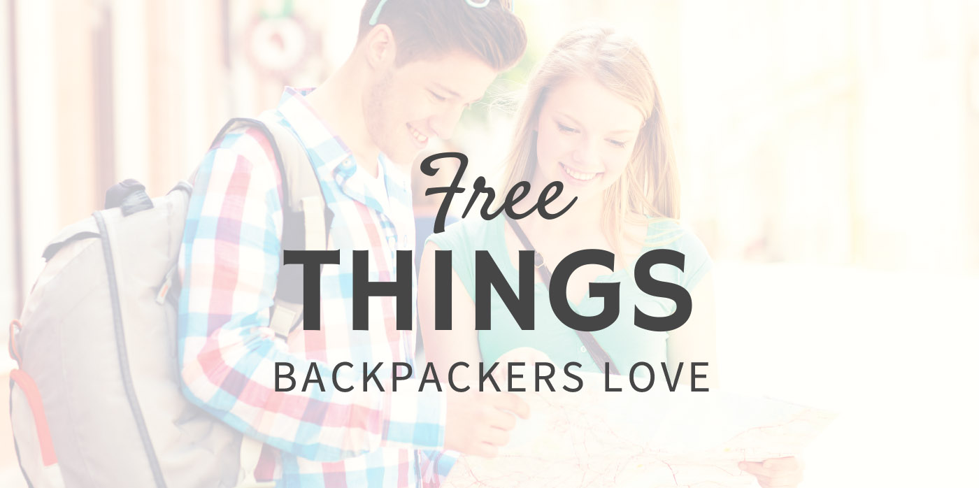Free Things Backpackers Love