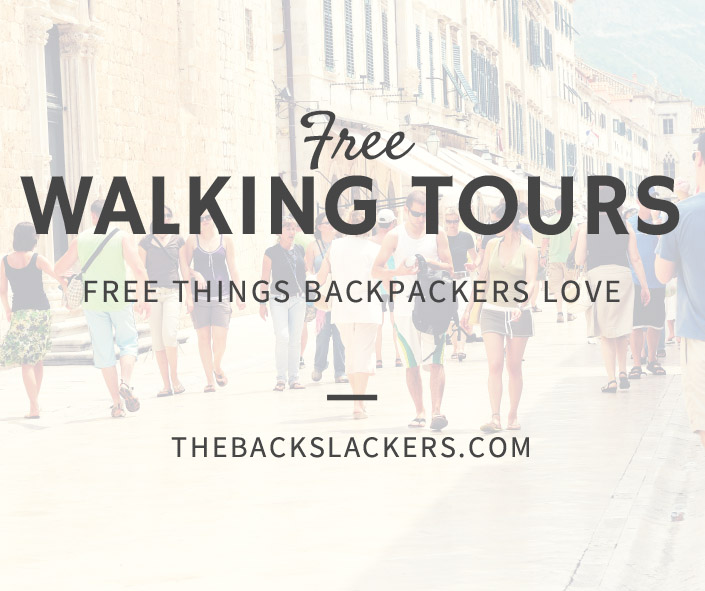 Free Walking Tours - Free Things Backpackers Love