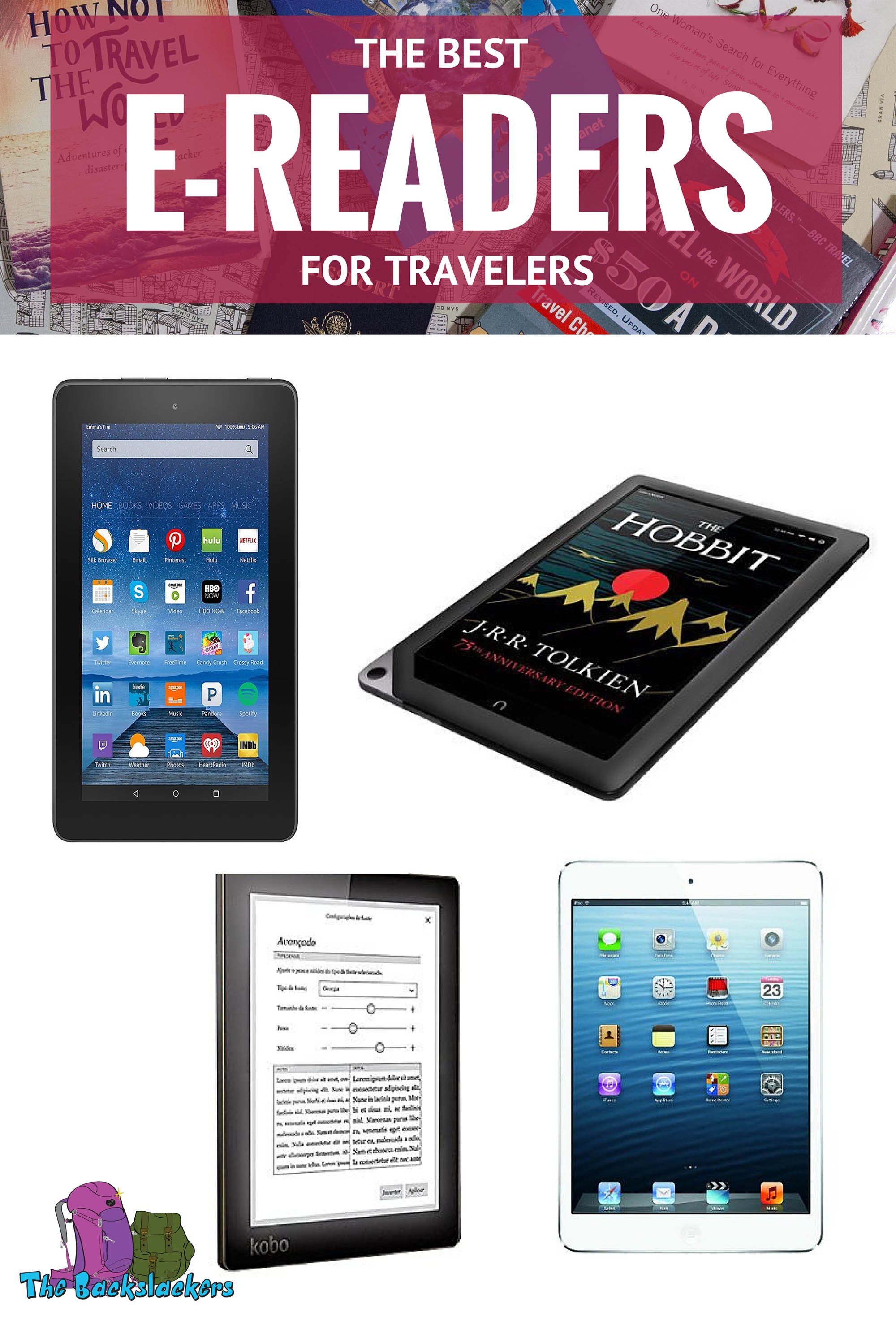 Best E-Readers for Travelers