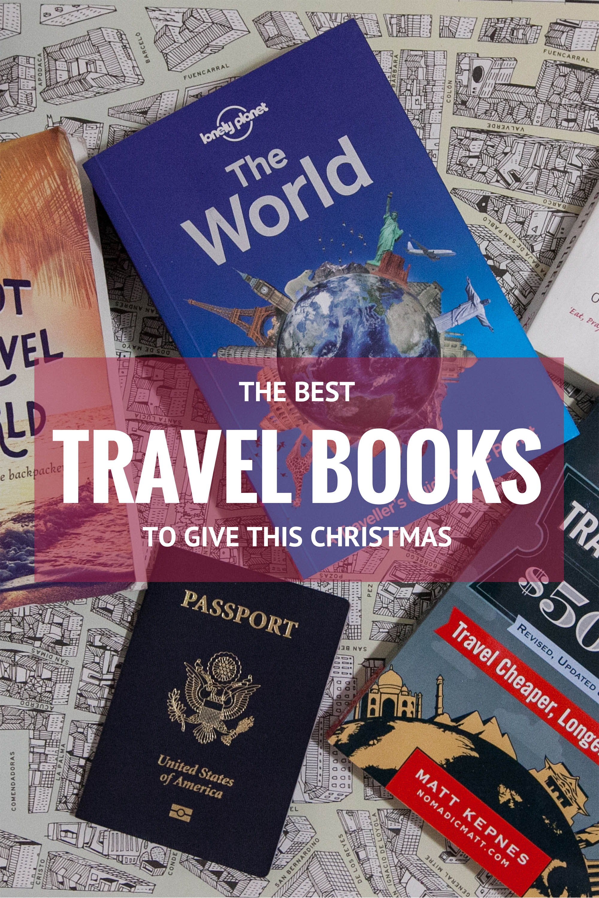Best Travel Books to Give This Christmas