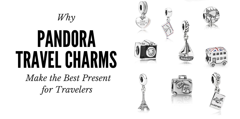 pandora charm travel