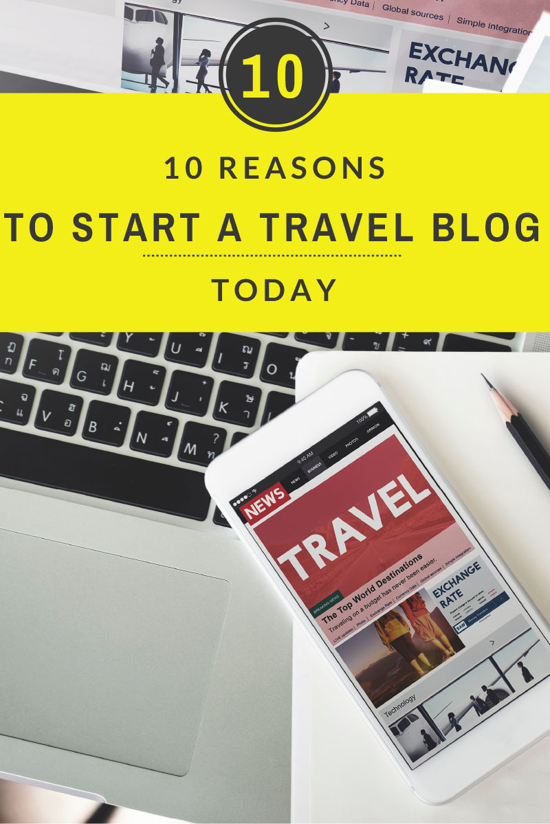 Anyone can start a travel blog, but should you? YES. Here are ten reasons to start a travel blog today. Like free stuff? Money? Clout? DON'T MISS THIS.