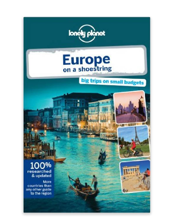 Lonely Planet Europe on a Shoestring