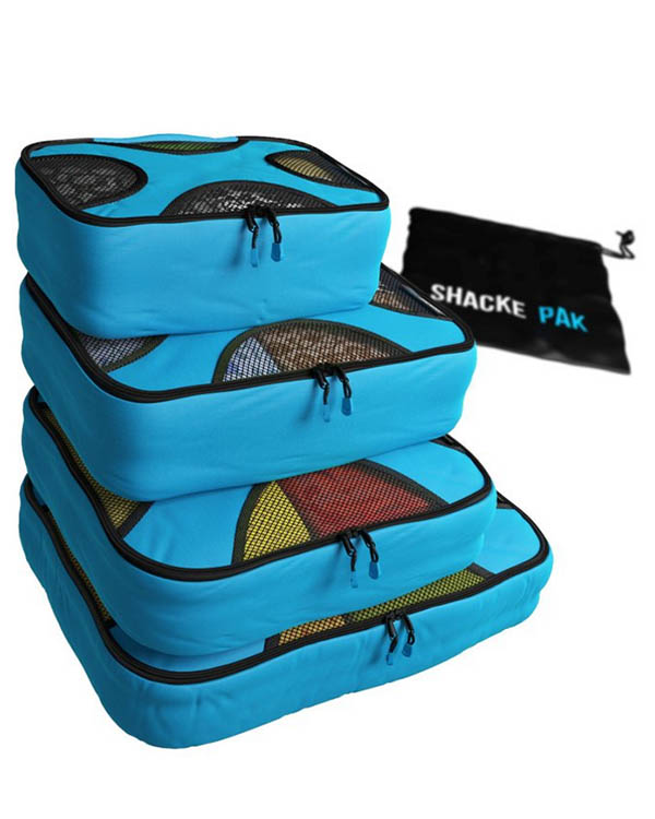 Packing Cubes - a packing essential for backpackers