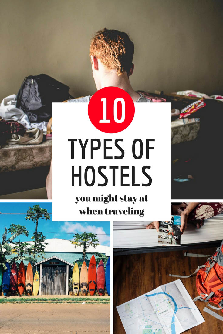 10 Types of Hostels You Might Stay At When Traveling Around the World