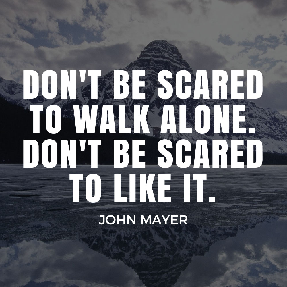 Travel Alone Quotes Five Quotes About Travel Fears  The Backslackers