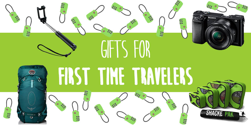 Gifts for travelers going abroad for the first time. - Presents to buy for the first time traveler.